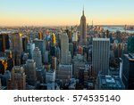 manhattan | Shutterstock . vector #574535140
