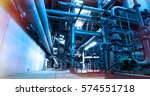 industrial zone  steel... | Shutterstock . vector #574551718
