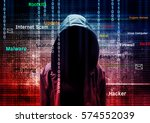 Computer Hacker Or Cyber Attack ...