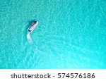 people are playing a jet ski in ... | Shutterstock . vector #574576186