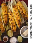 Small photo of Grilled Corns on the cob