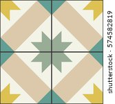 geometric seamless pattern.... | Shutterstock .eps vector #574582819