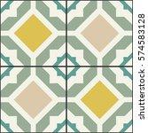geometrical vintage decor for... | Shutterstock .eps vector #574583128