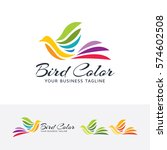 bird color  colorful  art ... | Shutterstock .eps vector #574602508
