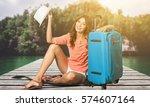 tourist. | Shutterstock . vector #574607164