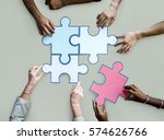 togetherness connection... | Shutterstock . vector #574626766