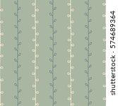 seamless nature sketch vector...   Shutterstock .eps vector #574689364