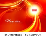 abstract ardent background. red ... | Shutterstock .eps vector #574689904