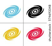 vortex icon vector illustration | Shutterstock .eps vector #574693348