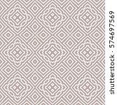 geometric seamless pattern... | Shutterstock .eps vector #574697569