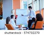 business people corporate... | Shutterstock . vector #574732270