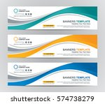 abstract web banner design... | Shutterstock .eps vector #574738279