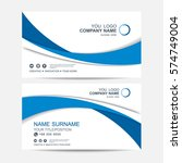 business card vector background | Shutterstock .eps vector #574749004
