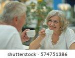 couple on date | Shutterstock . vector #574751386