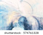 abstract beautiful blue and... | Shutterstock . vector #574761328