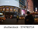 new york  usa   feb 08  2017 ... | Shutterstock . vector #574783714