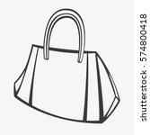 handbag | Shutterstock .eps vector #574800418