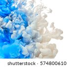 ink in water | Shutterstock . vector #574800610