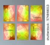 design elements presentation... | Shutterstock .eps vector #574848013