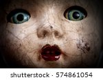 Scary Cracked Old Doll Face ...