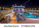 Night Photo Of Cruise Ship Dock ...