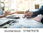 administrator business man... | Shutterstock . vector #574879378
