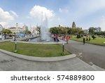 yangon  myanmar   25. december... | Shutterstock . vector #574889800