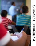 young people and education.... | Shutterstock . vector #574890448