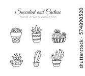 Cactus Illustration. Succulent...