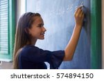 young people and education.... | Shutterstock . vector #574894150