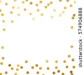 Gold Glitter Background Polka...