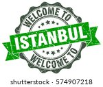 istanbul. welcome to istanbul... | Shutterstock .eps vector #574907218