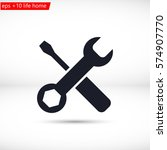 tool vector icon 10 eps