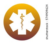 medical symbol of the emergency ...