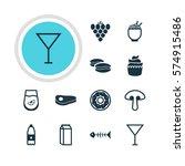 vector illustration of 12...   Shutterstock .eps vector #574915486