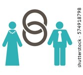 marriage persons flat icon....   Shutterstock .eps vector #574918798