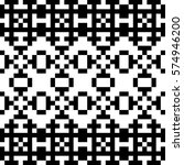 vector seamless pattern.... | Shutterstock .eps vector #574946200