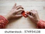 heart broken love mend bandage | Shutterstock . vector #574954138