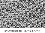 picture with black and white... | Shutterstock . vector #574957744