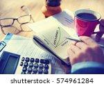 improvement development... | Shutterstock . vector #574961284