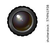 realistic camera lens. vector...   Shutterstock .eps vector #574961938