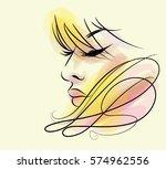 vector  stylish  original hand...