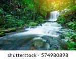 Mun Dang Waterfall At Phu Hin...
