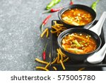 hot and sour soup | Shutterstock . vector #575005780