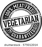 meat free vegetarian food | Shutterstock .eps vector #575012014