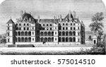 chateau de madrid in the bois ... | Shutterstock . vector #575014510