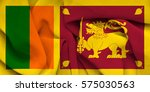 flag of sri lanka | Shutterstock . vector #575030563