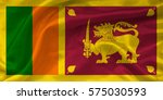 flag of sri lanka | Shutterstock . vector #575030593