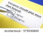 everyone should plan their own... | Shutterstock . vector #575030800