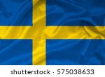 flag of sweden | Shutterstock . vector #575038633